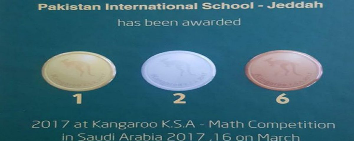 Kangaroo Math Competition 2017 – Pakistan International School